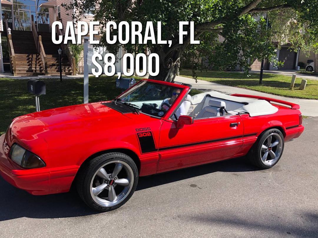 Cape Coral, FL ~ 47k miles ~ Manual ~ $8,000 - Fox Feature ...